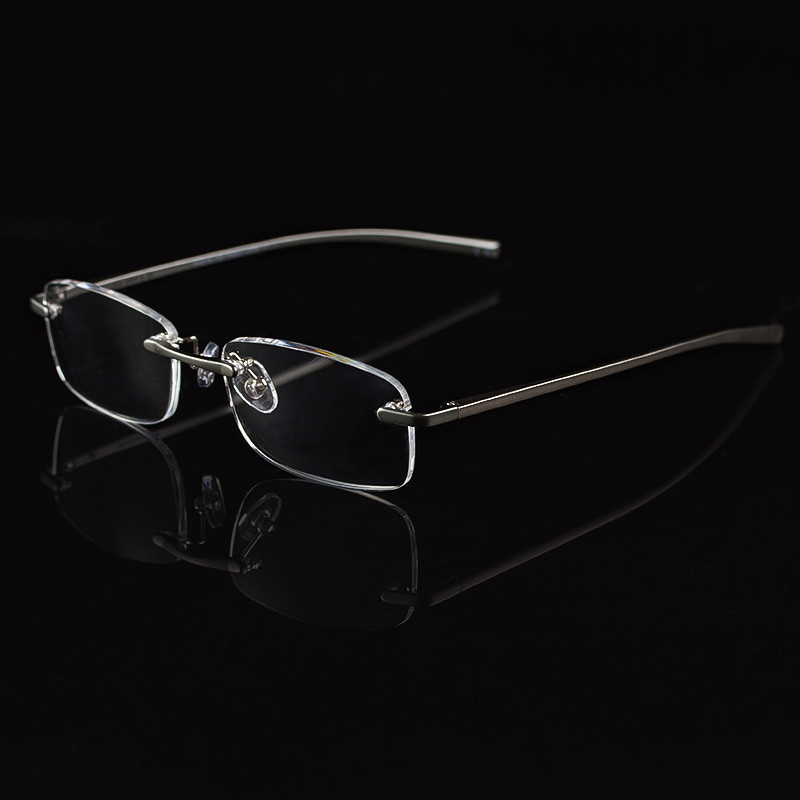 2017 Kacamata Baca untuk Wanita Aluminium Bingkai Pria Presbiopia - Aksesori pakaian - Foto 3