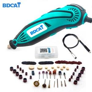 Image 3 - BDCAT Elektrische Boor Dremel Molen Graveren Molen Mini Boor Rotary Tool Slijpen Polijsten Machine Dremel Accessoires