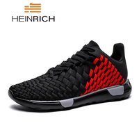HEINRICH Fashion Krasovki Men Casual Shoes Male Sneakers Light Breathable Lovers Shoes Kanye West Footwear Men Calzado Hombre