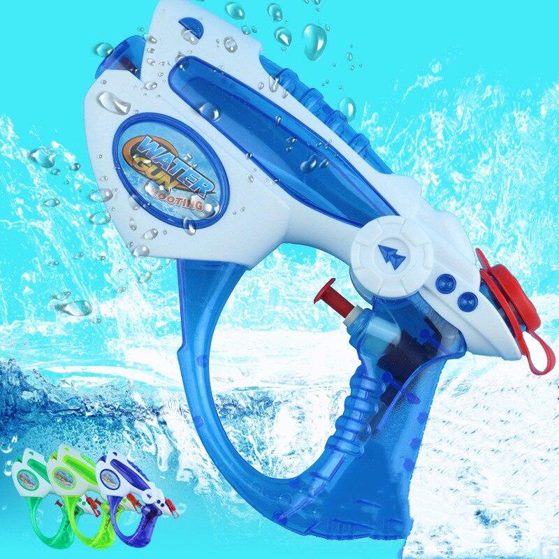 Outdoor Beach Toys Kids Summer Beach Water Gun Seaside Natatorium Square Drifting Water Pistol Squirt Toys 1