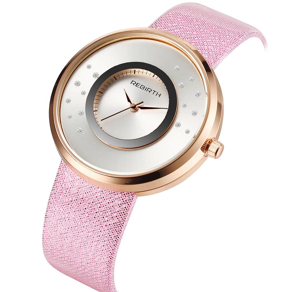 Prix pour 2016 Nouvelle Marque De Mode Femmes Dame De Luxe Horloge Femelle Élégant Casual Business Élégant Bracelet En Acier Quartz Bracelet Montre RE031