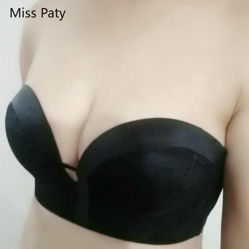 3e3fb537ffe ... 2019 NEW strapless bra sexy lace top bras for women Wedding Dress Body push  up bra