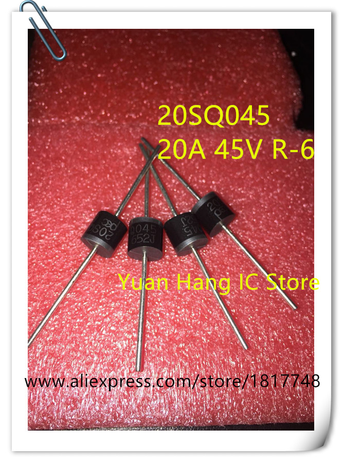 10pcs New 20SQ045 20A 45V Schottky New 20SQ045 20A 45V Schottky Rectifiers Diode