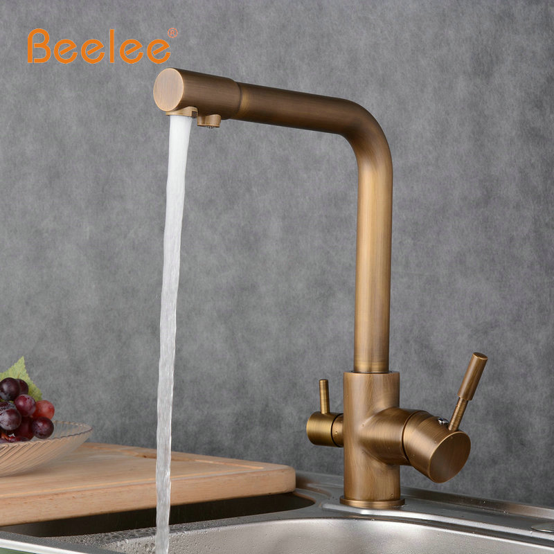 Beelee Antique Vegetables Basin Water Purifier Kitchen Faucet full ...