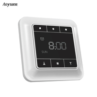 ANYSANE Wireless LCD Timer Controller Switch Automation Module Wireless Switch Remote Control Door Curtain Opener Smart
