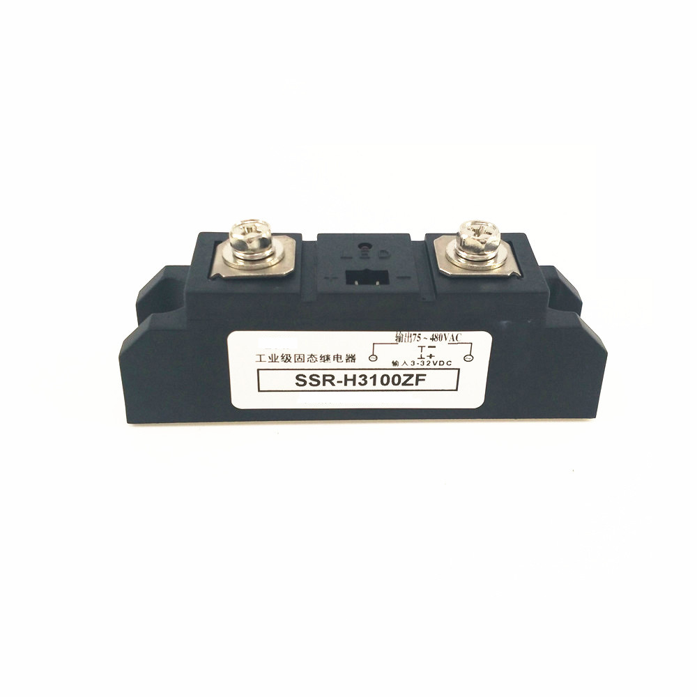 цена на Industrial - grade solid state relays 100A 480VAC DC control AC SSR H3100ZF