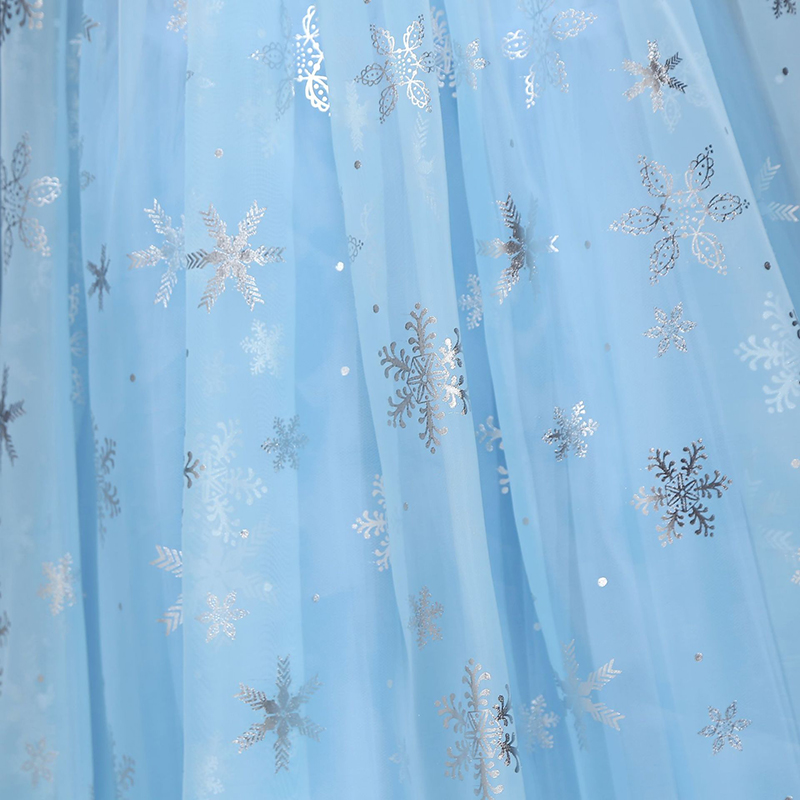 HTB1.h7TbffsK1RjSszbq6AqBXXav 2019 New Elsa Dress Girls Summer Dress Princess Anna Cosplay Costume Dresses For Girl Princess Vestidos Menina