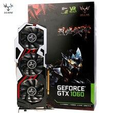 COLORFUL GPU iGame Ymir GTX1060 U6GD5 Top GDDR5 Three Fans One-Key Over Clock 1506-1809MHz 192 Bit DirctX 11 3* DP 1*HDMI DVI-D