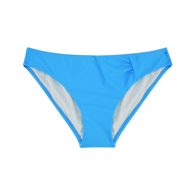 Шорты для плавания с низкой талией, плавки, одежда для плавания, сексуальный женский купальник, Бразильское бикини, два предмета, Раздельный купальник, B601 - Цвет: B601F