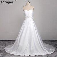 Vestido De Novia 2017 White/Ivory Tulle Wedding Dress Bridal Dress Wedding Gown Robe De Mariage For Pregnancy Customized Design