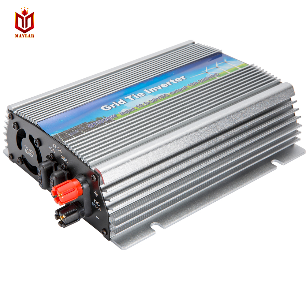 small resolution of 10 5 30vdc 500w solar inversor grid tie pure sine wave power inverter 90 140vac 50hz 60hz votlage regular for home solar system in inverters converters