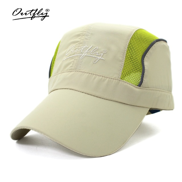 f18ac5217c05f Outfly Monkey Breathable Cap Hats Men s Summer Quick Dry Cap Light Sun Hat  Outdoor Hat 2017 New visor