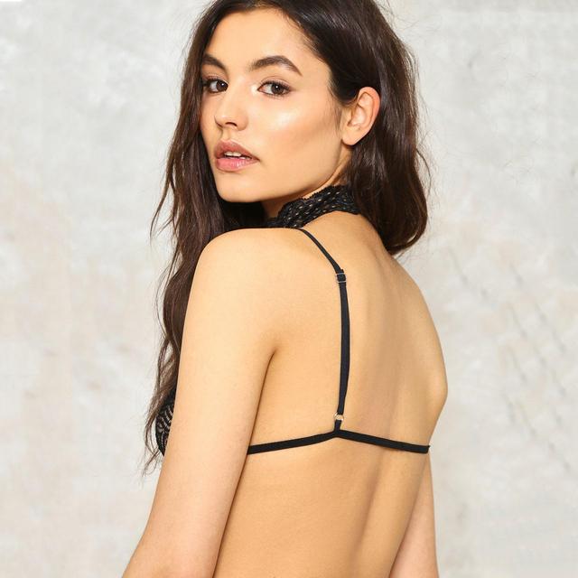 Missomo 2017 Solid Color Women Underwear Back Cross Adjustable Straps Lingerie Sexy Halter Breathable Soft Female Bralette