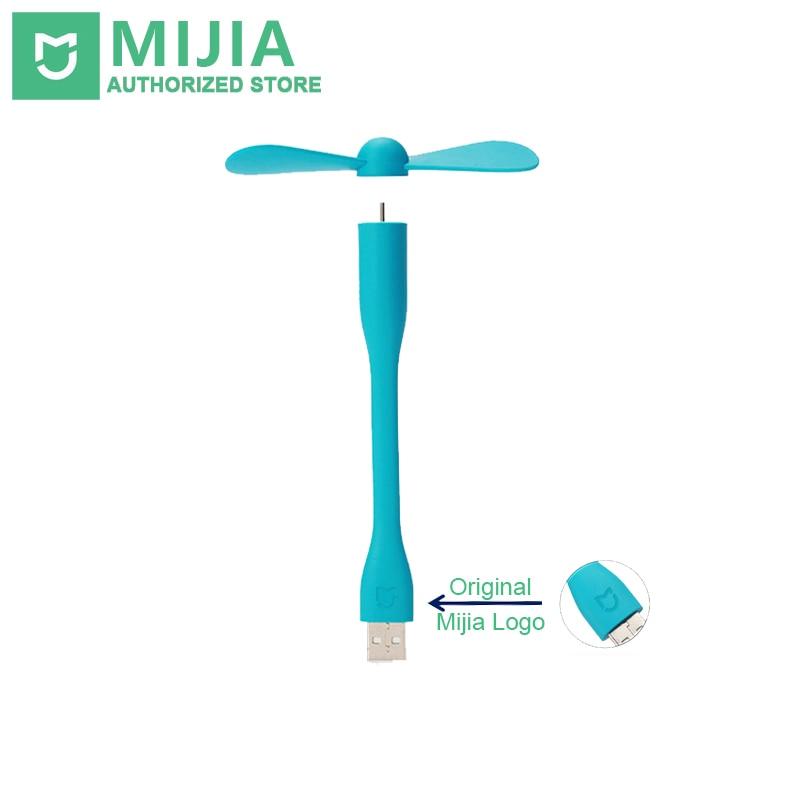 D'origine Xiaomi Mijia USB Ventilateur Flexible USB Portable Mini Ventilateur Pour Power Banque et Ordinateur Portable et L'ordinateur Portable et Ordinateur Puissance-économie