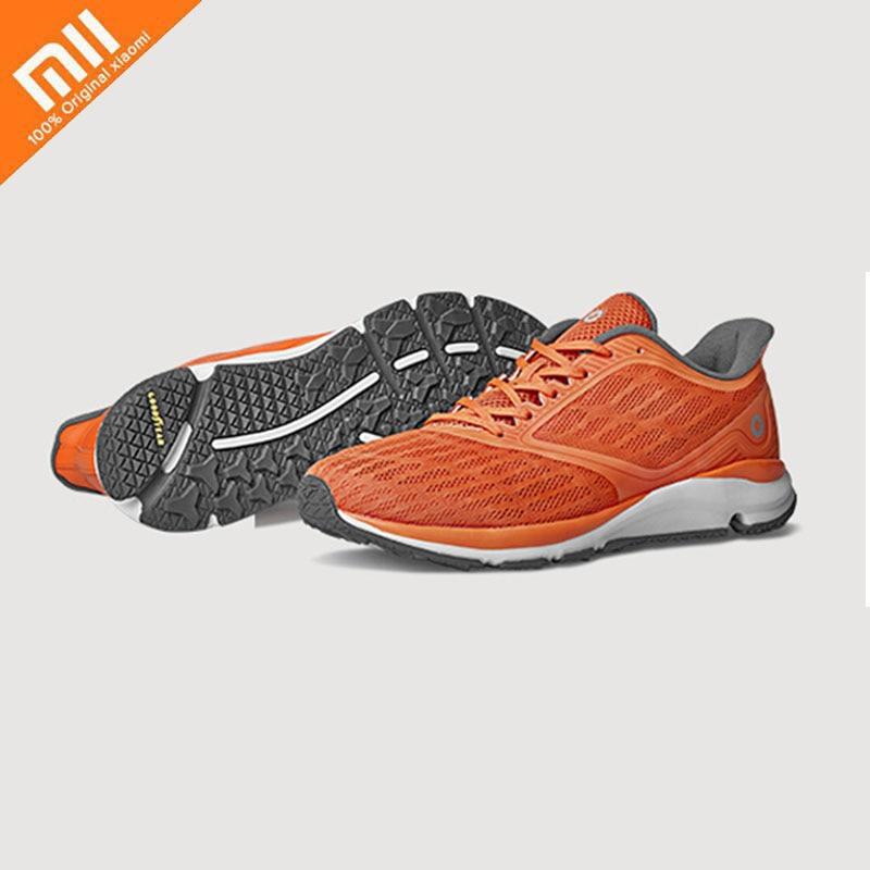 En Stock Xiaomi Amazfit chaussures antilope chaussures intelligentes léger Sports de plein air baskets en caoutchouc semelle soutien puce intelligente Pk Mijia 2