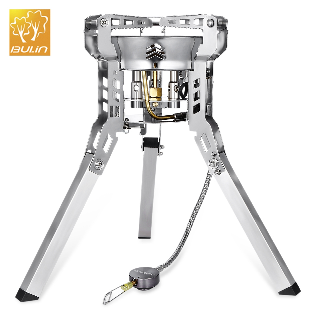 Outdoor Camping Picnic Foldable Split Gas Stove Portable BBQ GearOutdoor Camping Picnic Foldable Split Gas Stove Portable BBQ Gear