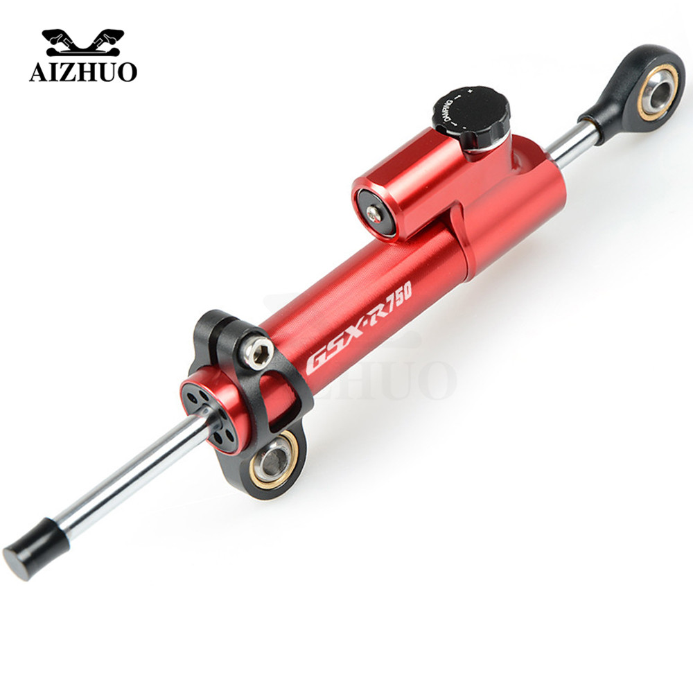 GSXR750 LOGO Motorcycle Steering Damper Stabilize Safety Control For SUZUKI GSXR750 GSX-R 750 1996 97 98 99 2011 2012 2013-2016