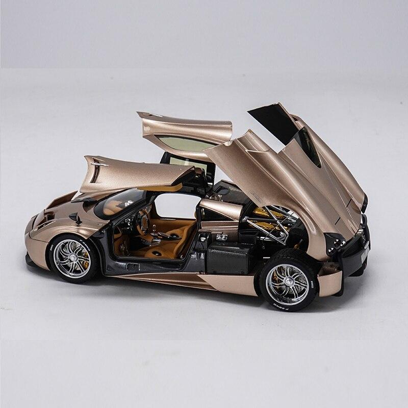Escala 1:18 Diecast Metal Modelo de Carro Esporte Brinquedos Para Carro Pagani Automobili Huayra Supercar Diecast Brinquedos Modelo Com Caixa Original