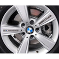 Car-Styling Decoration Decals Car's Rims Covers PVC Exterior Car Accessories Auto Waterproof Sticker Covers for BMW