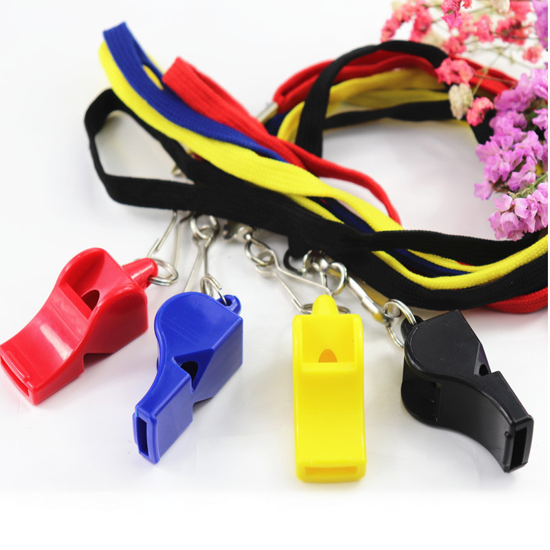 1Pcs Whistle Plastic Fox Soccer Football Basketball Hockey Baseball Sports Referee Whistle Survival Outdoor Like
