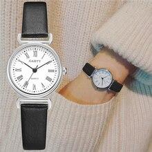 Exquisite Kleine Frauen Kleid Uhren Retro Leder Weibliche Uhr Top Marke frauen Mode Mini Design Armband Armbanduhren Uhr