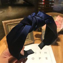 Solid Colors Hair  Knotted Hair Band for Women