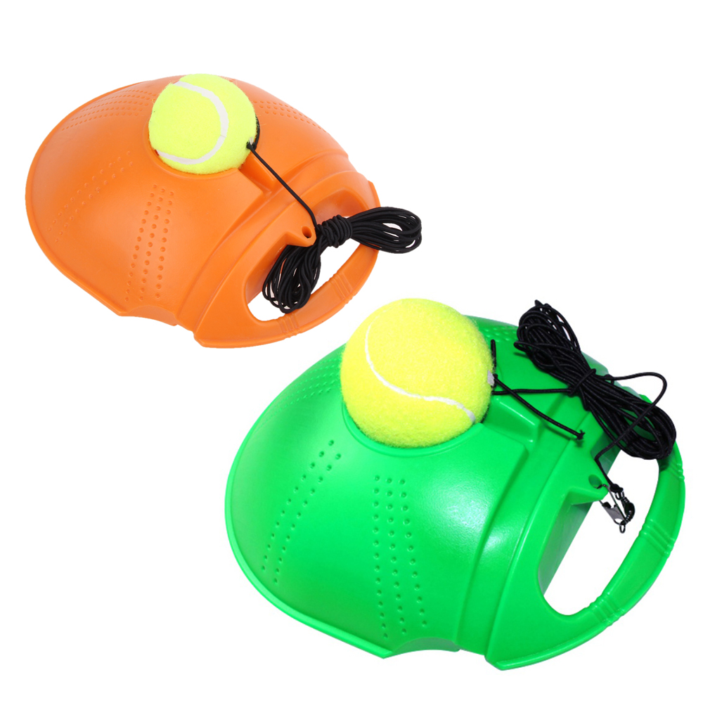 High Quality Tennis Trainer Training With Belts Primary Tool Exercise Tennis Ball Self-study Rebound Ball Baseboard Dropshipping