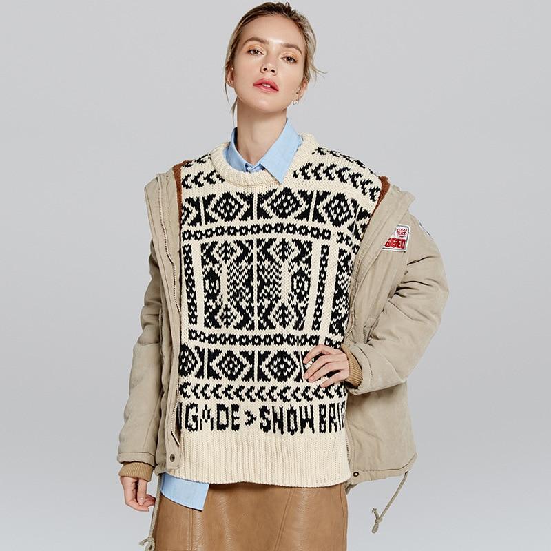 Grande Longues New Hiver Outwear Femmes 2 Parkas 1 Manteau Agneau Cachemire De 6 Taille 7 Veste 5 4 Automne Coton 2018 Chaud 3 Femelle Occasionnel Capuche EqwAAO