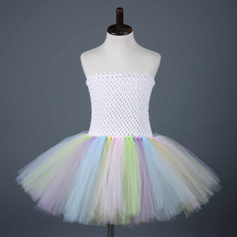 e3aa8067b59a ... Pink White Easter Tutu Dress Tulle Girl Princess Bunny Costume Kids Baby  Girl Rabbit Cosplay Dresses ...