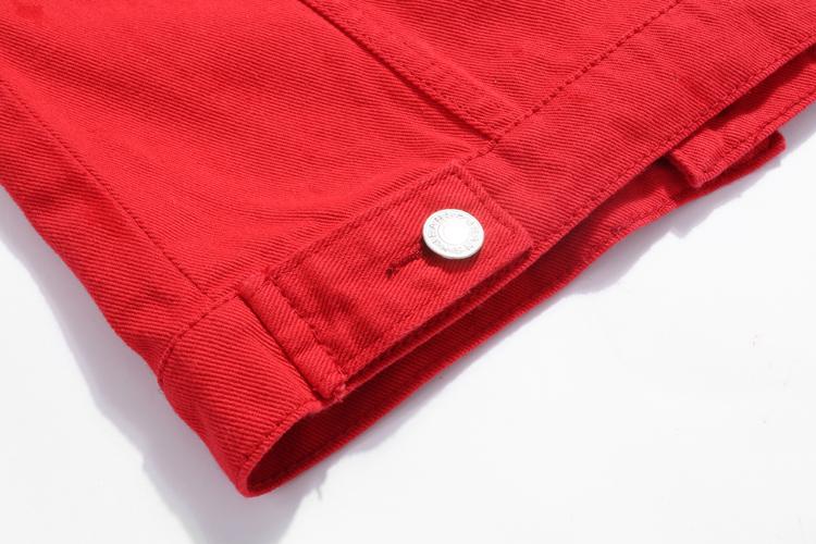 Jeans Jacket and Coats for Women 19 Autumn Candy Color Casual Short Denim Jacket Chaqueta Mujer Casaco Jaqueta Feminina 13