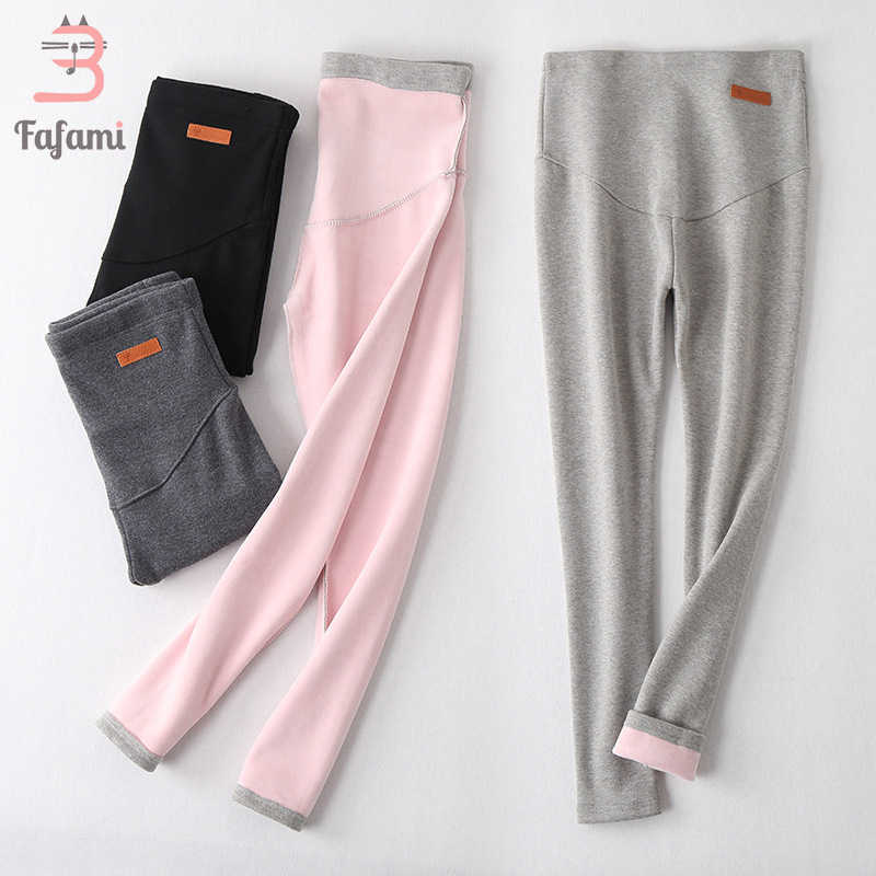bb1a7ddd3a61d -30 2018 Winter Maternity Leggings Thickened Pregnancy Clothes With Velvet  For Pregnant Women Keep Warm