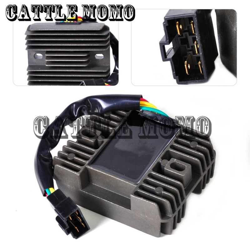 New 12v Motorcycle Regulator Rectifier for Suzuki GSXR600 GSXR750 GSXR1000 GSX1300R Hayabusa VL1500 Intrude Metal Rectifier
