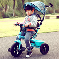 Children  tricycles baby stroller  carriages children folding pedals trolley bicycles