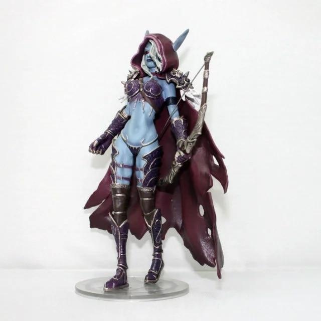 Windrunner Action Figure World of Warcraft Forsaken Queen Sylvanas Kid Toy Gift 4