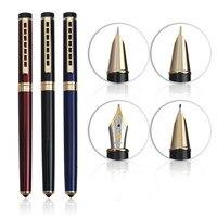 Hero HERO1066 Gold Iridium Pen Gift Packaging Smooth Writing 0 5 0 8 0 58 0