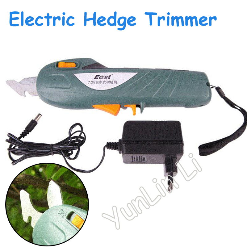 Electric Hedge Trimmers Rechargeable Shears Forest font b Garden b font Scissors Electric Cutting font b