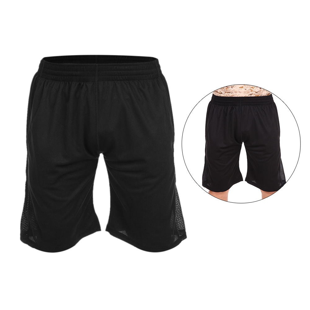 Lixada  Summer Quickly Dry Gym Sports Shorts Mens Activewear Football Fitness Workout Jogging Running Active