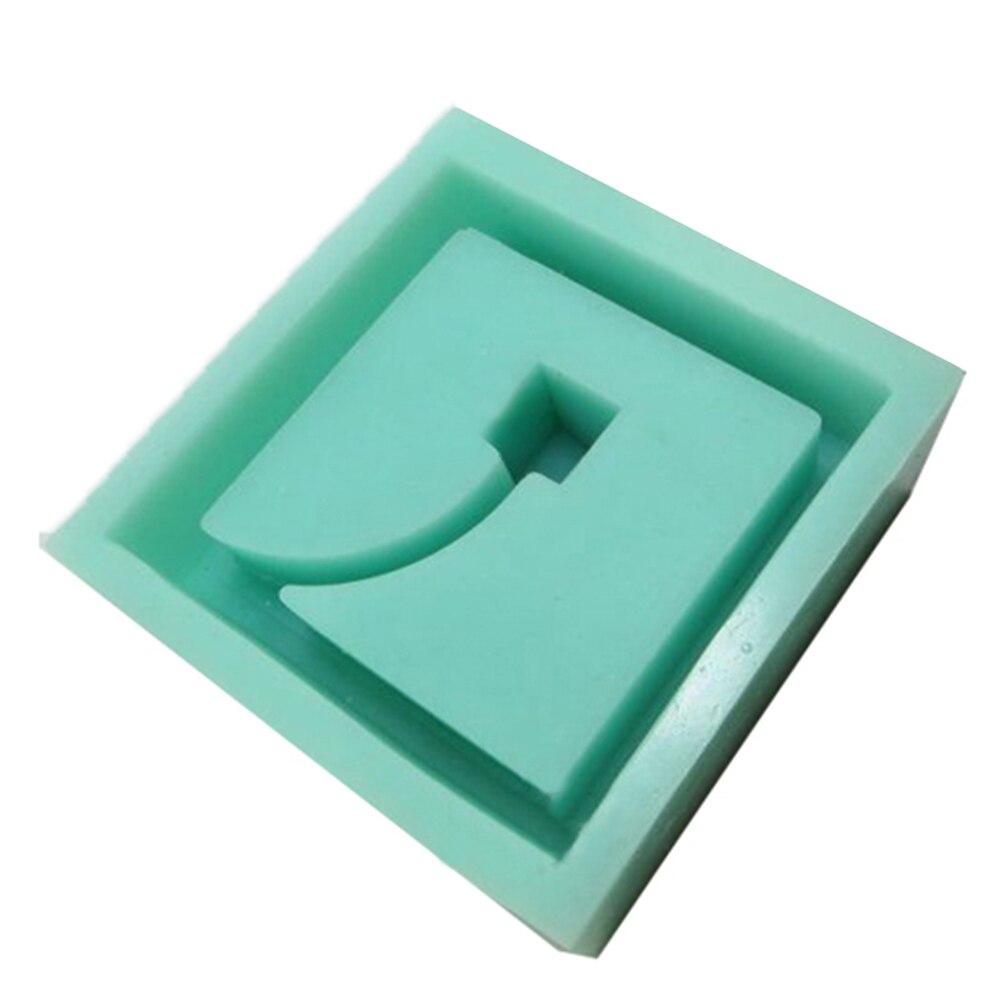 desktop decoração molde de cimento