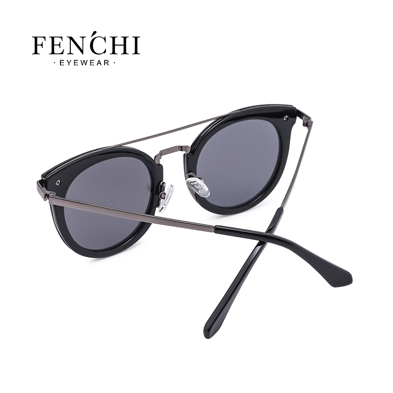 2019 new polarized lady sunglasses fashion trend frame series sunglasses 5