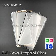 Закаленное стекло с полным покрытием для Samsung Galaxy S10 S9 S8 Plus S7 S6 Edge Note 8 9 10