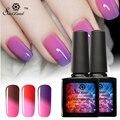 Saviland 1pcs 10ml Temperature Change Nail Mood Color UV Polish Nail Gel Thermo Gel For Nail Soak Off Gel  Varnish