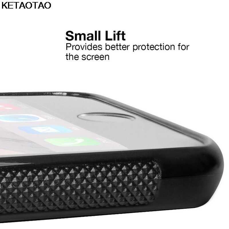 Ketaotao в стиле ретро; в винтажном стиле; Цвет Черный; радио для мобильного телефона, чехлы для iPhone, 4S 5C 5S 6 S 7 8 Plus XR XS Max для X6 чехол мягкий резиновый из ТПУ силикона