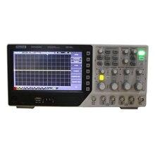 Hantek Osciloscopio Digital DSO4204C, 200MHz, 4 canales, portátil, USB, PC, LCD, Osciloscopio, automotriz, EXT, DVM, función de rango automático