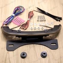 LED Fender eliminator integrated задний фонарь Копченый крючок для Harley V-стержень V Rod Night стержень 2012-2017