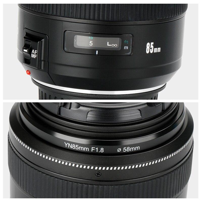 YONGNUO YN85mm F1.8 Kamera Objektiv für Canon EF Montieren EOS 85mm ...