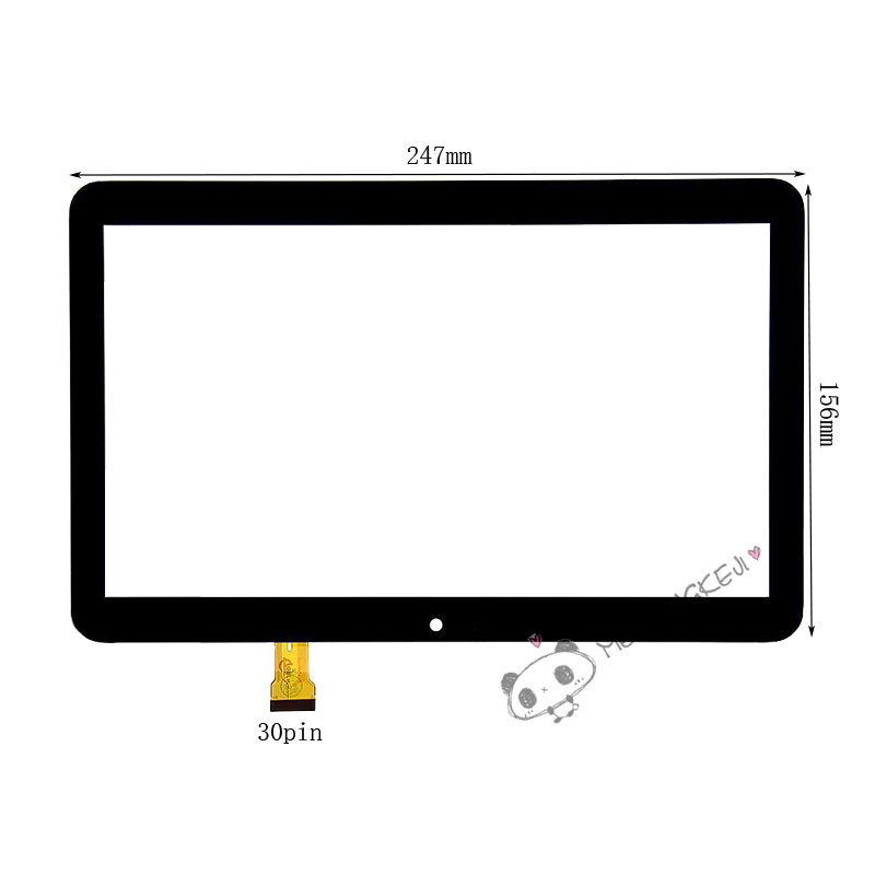 New 10.1 inch Digitizer Touch Screen Panel For Overmax QualCore 1020 3G Tablet PC new 10 1 inch digitizer touch screen panel glass for best buy easy home 10qc tablet pc