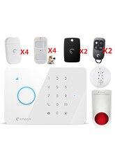 Etiger Smart GSM Alarm System for village security Protection Alarm system SMS&App remote control Smart Alarm system