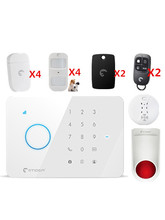 Similar As Chuango G5 Smart GSM Alarm System for village security Protection Alarm system SMS&App remote control Alarm system