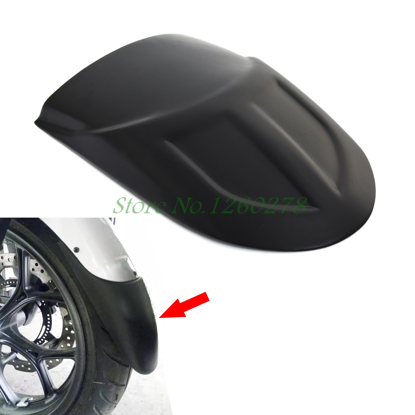 Motorcycle Front Fender Extension Extender For Kawasaki Versys 1000 Versys 650 KLE650 2010 2011 2012 2013 2014 2015 2016 2017 motorcycle front mudguard fender rear extender extension for ktm duke 200 390 2011 2012 2013 2014 2015 2016 2017