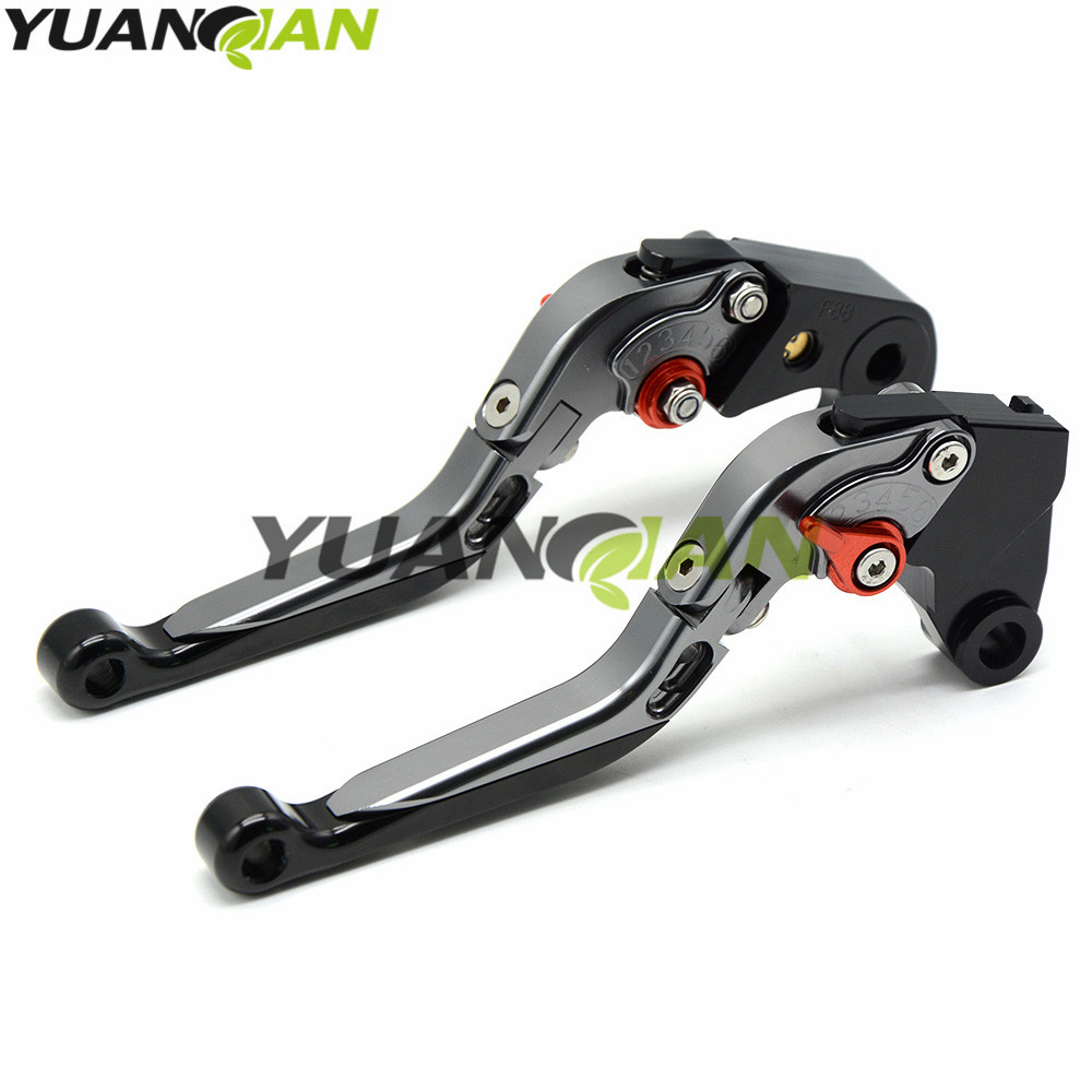 for KTM CNC Aluminum Brake Clutch Levers Motorcycle Racing Adjustable lever for MV Agusta F3 675 F3 800/AGO/RC/AMG 2014-2016